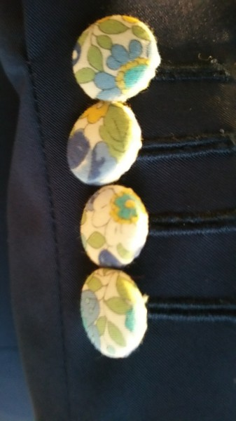 bouton personnalisation tissu couture