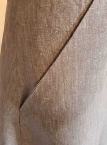création jupe lin couture cotonnerie du centre