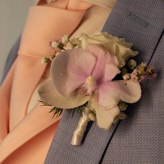 confection gilet cravate mariage combronde