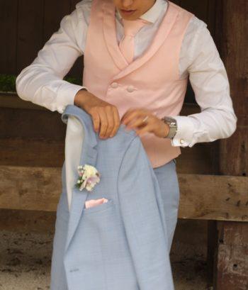 mariage confection personnalisé couture cravate