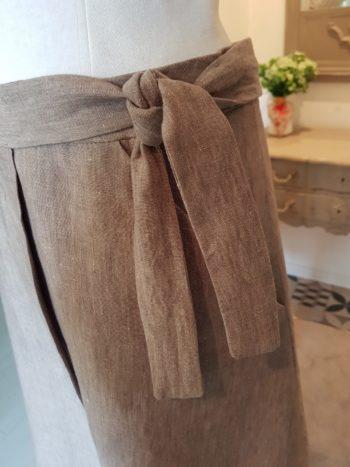 jupe lin couture atelier auvergne