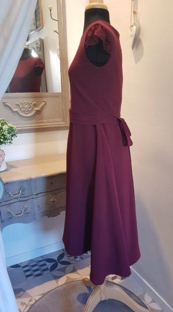 robe mariage couturière atelier combronde