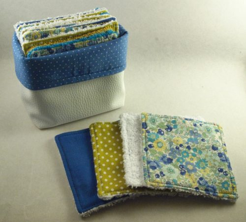 couture cotonnerie combronde bleu artisanat
