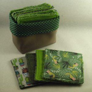 cadeau naissance coton réutilisable couture combronde