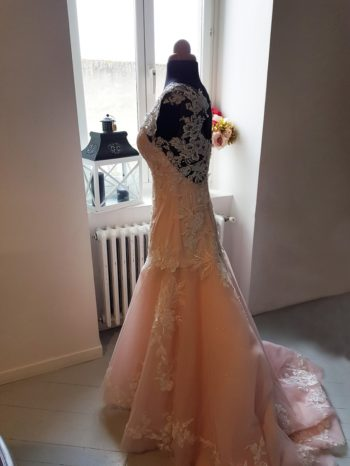 mariage couturière combronde auvergne robe