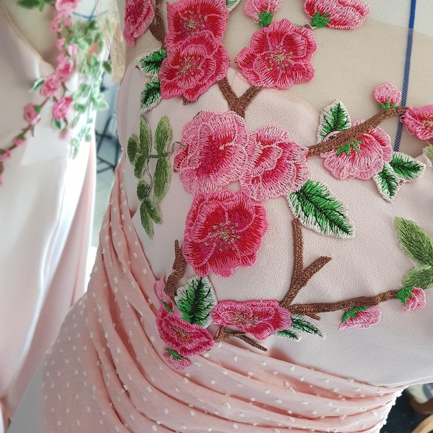 robe mariage sur mesure cotonnerie combronde